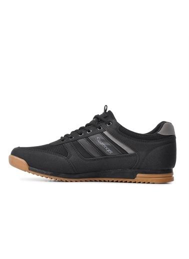 Slazenger Erkek ACTIVE Sneakers SA11LE010-500 Siyah